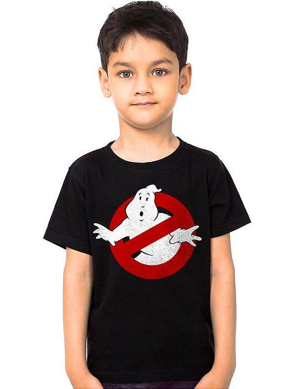 Camiseta Infantil Caça-Fantasmas - Nerd e Geek - Presentes Criativos