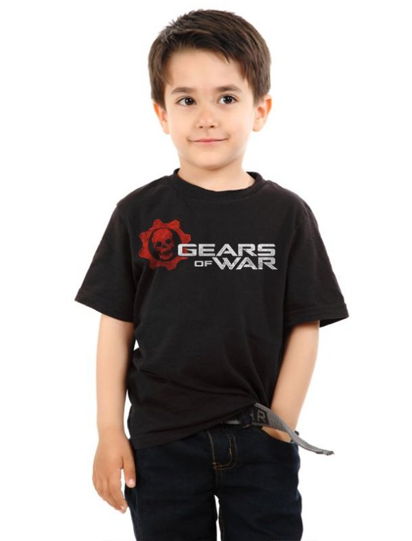 Camiseta Infantil Gears of War - Nerd e Geek - Presentes Criativos