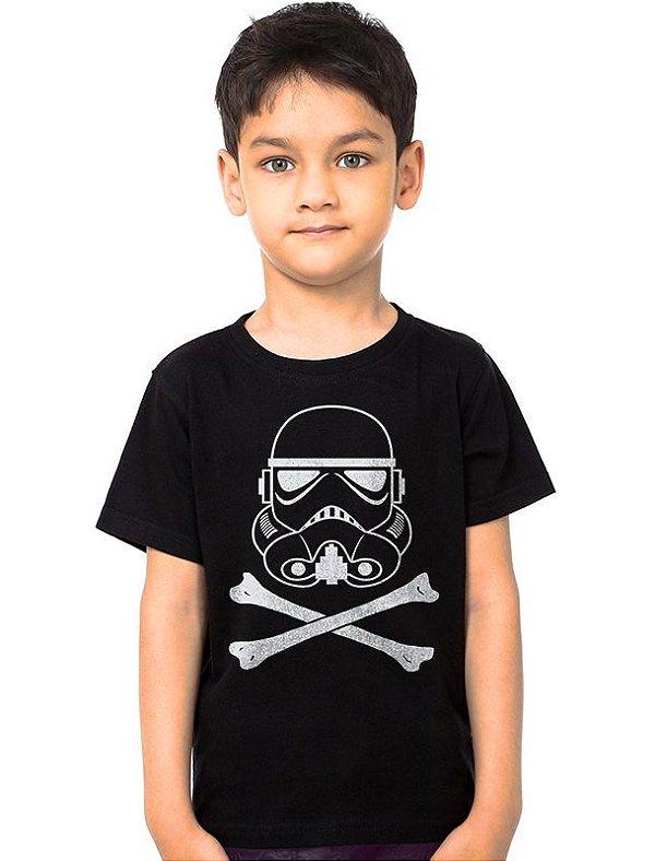 Camiseta Infantil Stormtrooper - Star Wars