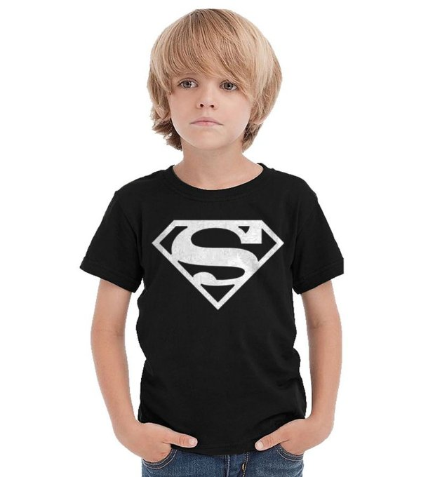 Camiseta Infantil Super Man
