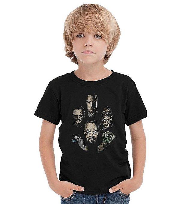 Camiseta Infantil Breaking Bad
