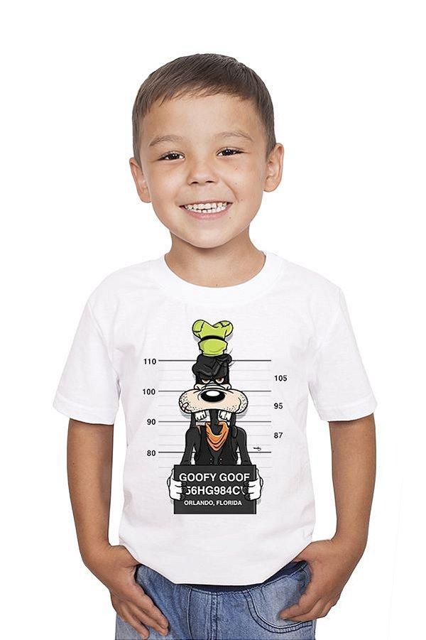 Camiseta Infantil Goofy Goof