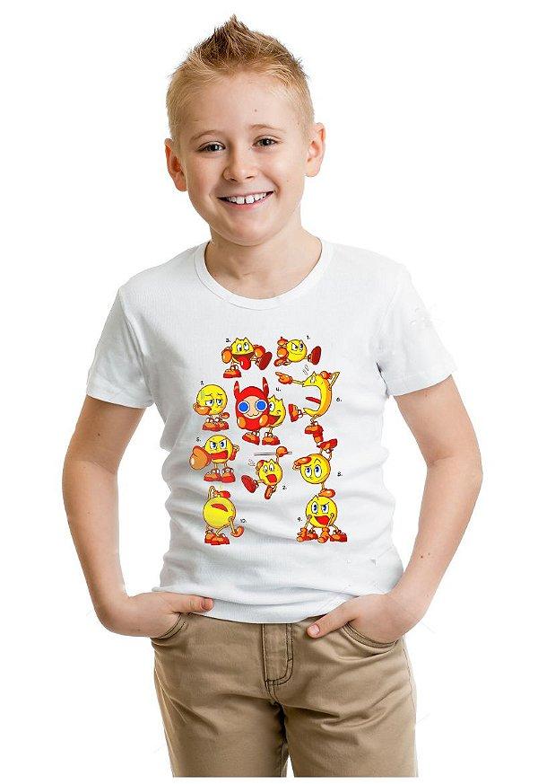 Camiseta Infantil Pac-Man