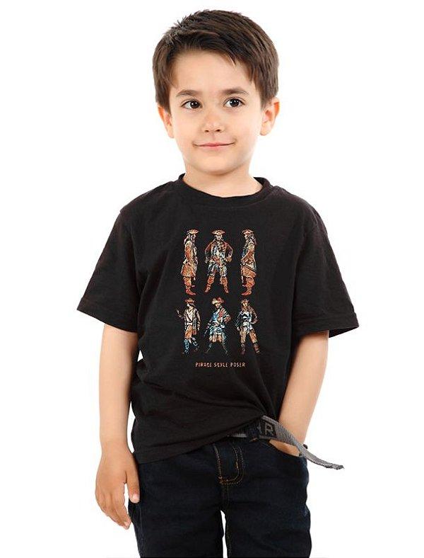 Camiseta Infantil Pirata Style