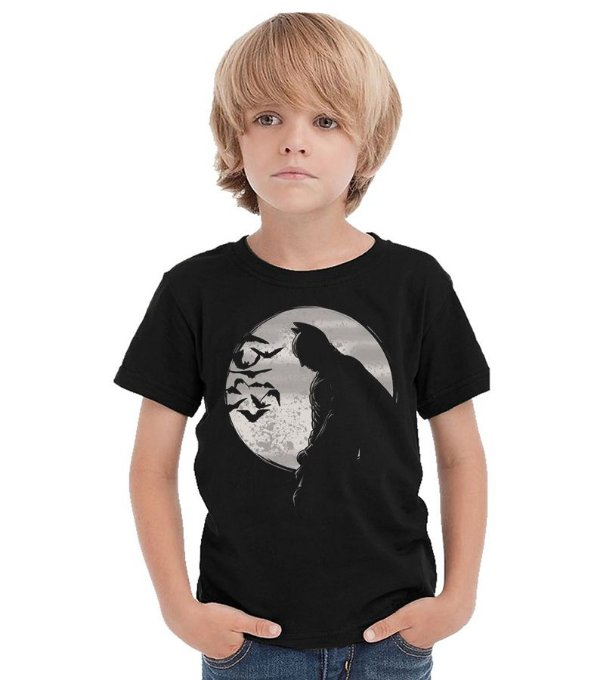 Camiseta Infantil Batman Thinking