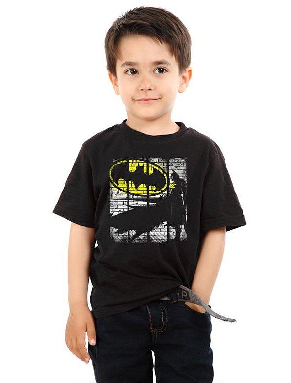 Camiseta Infantil Batman