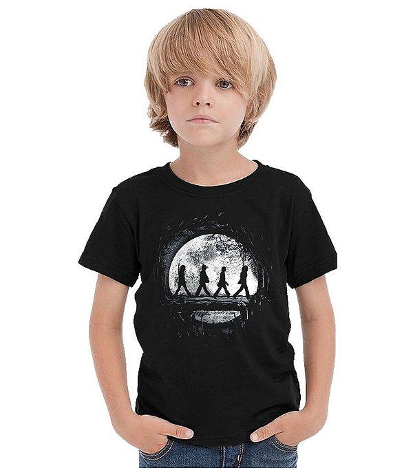 Camiseta Infantil The Beatles