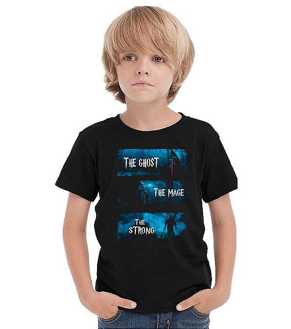 Camiseta Infantil Senhor dos Anéis - Darth Vader
