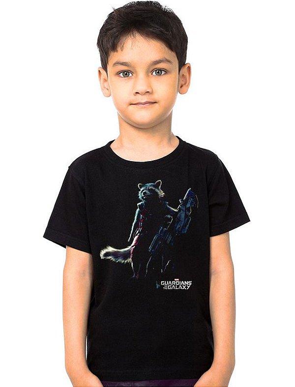 Camiseta Infantil Guardiões da Galáxia