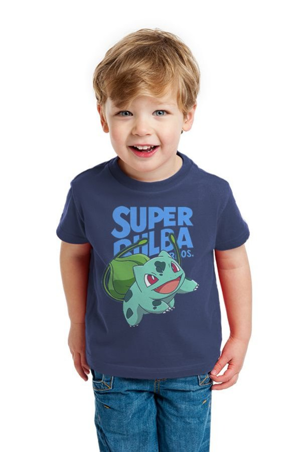 Camiseta Infantil Super Bulba Bros - Nerd e Geek - Presentes Criativos