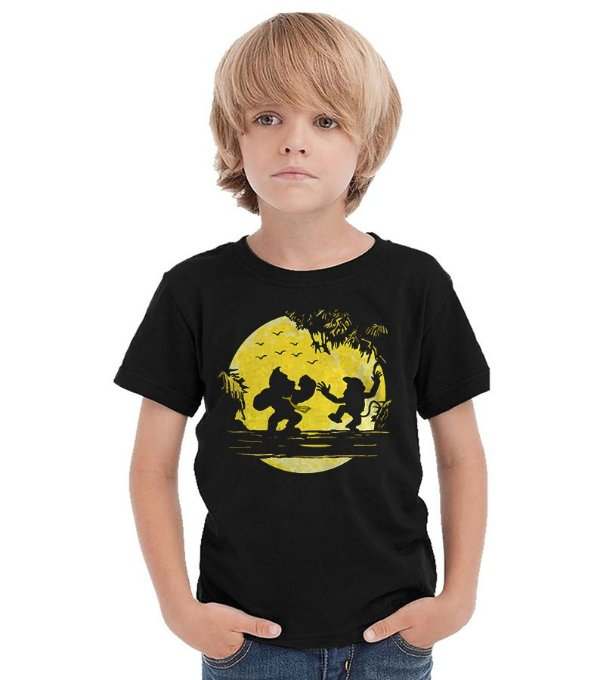 Camiseta Infantil Donkey Kong - Nerd e Geek - Presentes Criativos