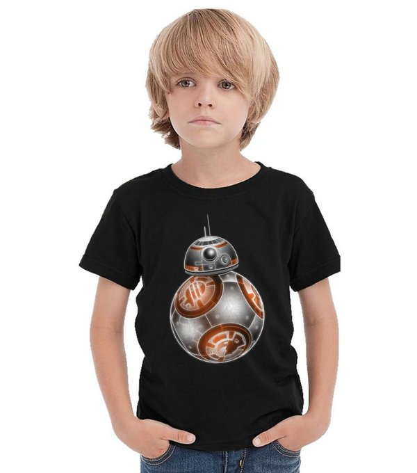 Camiseta Infantil Star Wars BB-8