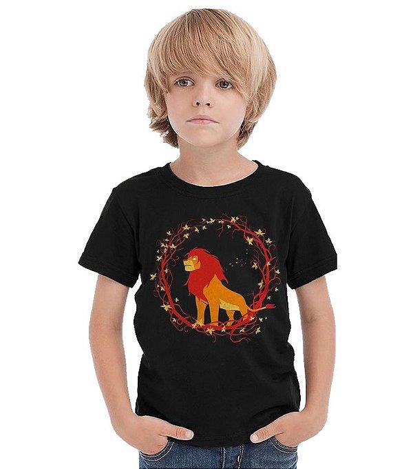 Camiseta Infantil Rei Leão - Filme