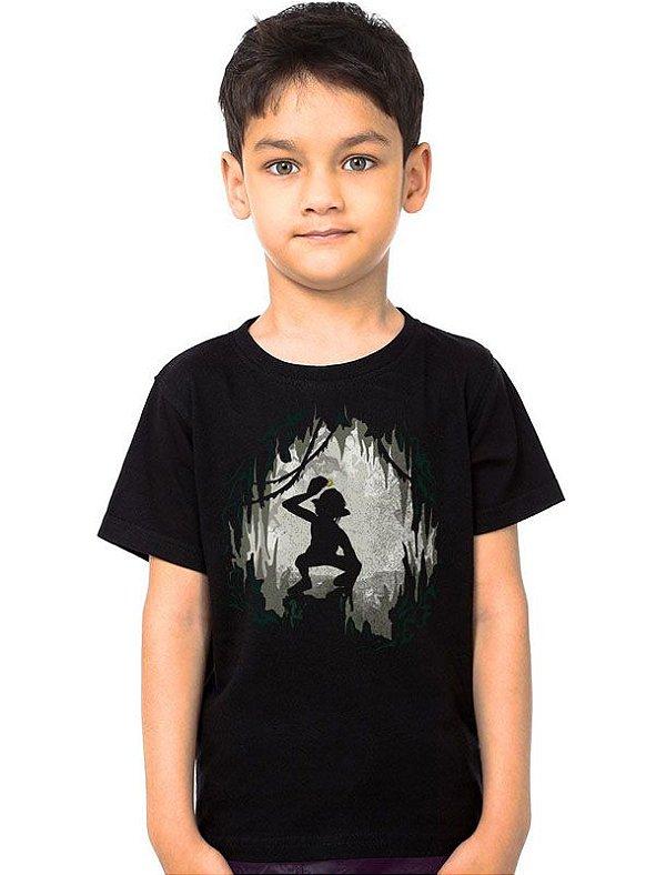 Camiseta Infantil Senho dos Aneis - My Precious
