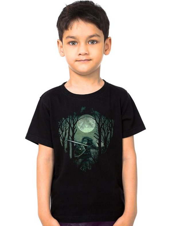 Camiseta Infantil The Legend Of Zelda Link Florest - Nerd e Geek - Presentes Criativos