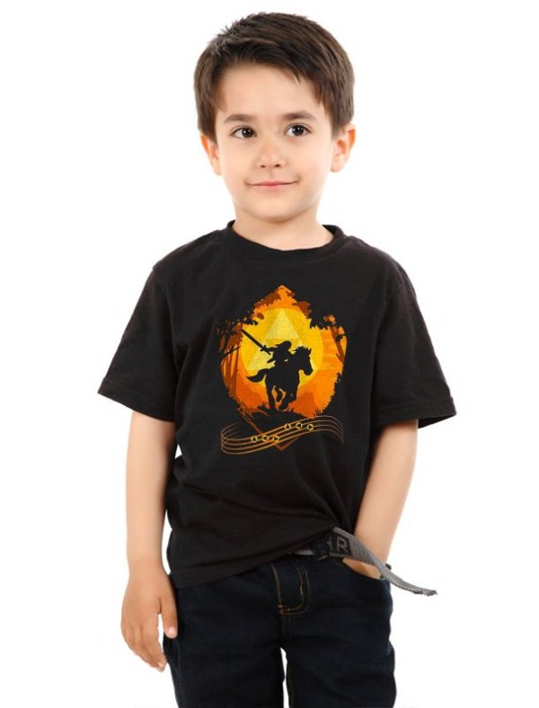 Camiseta Infantil Zelda Link - Florest