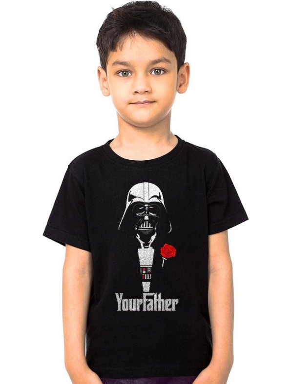 Camiseta Infantil Star Wars Darth Vader Your Father