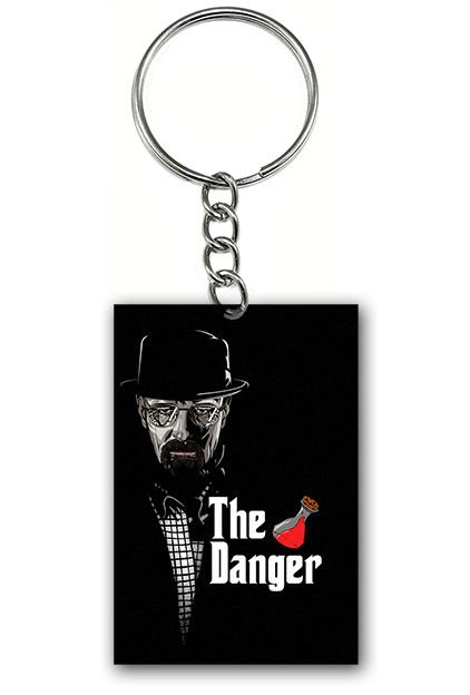 Chaveiro Heisenberg The Danger - Nerd e Geek - Presentes Criativos