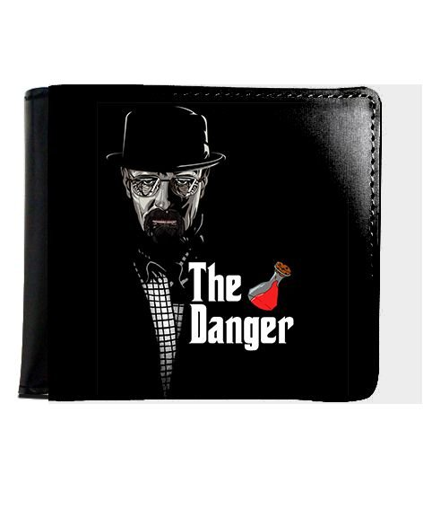 Carteira Heisenberg The Danger - Nerd e Geek - Presentes Criativos