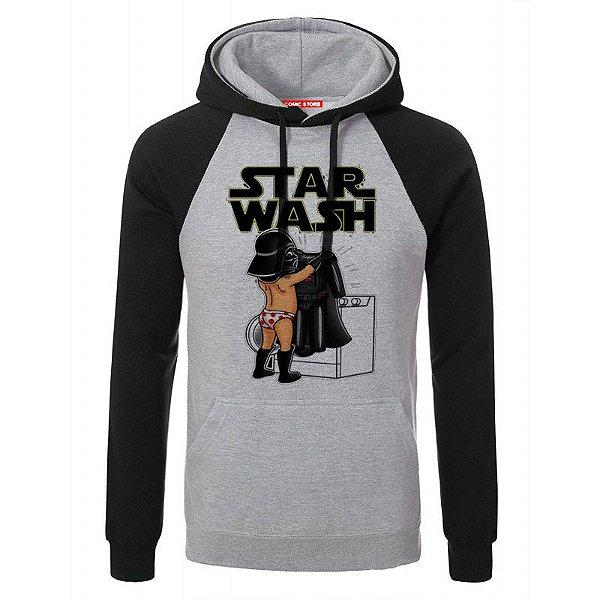 Blusa com Capuz Star Wars -Darth Wash