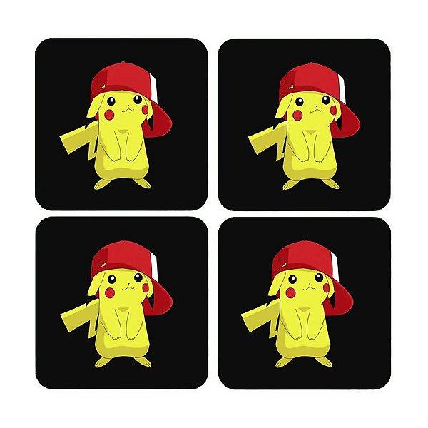 Porta Copos Pikachu - Nerd e Geek - Presentes Criativos