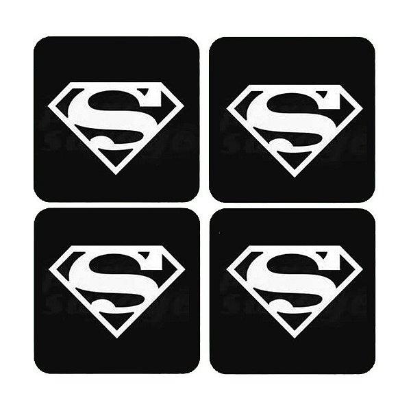 Porta Copos Supermen - Nerd e Geek - Presentes Criativos