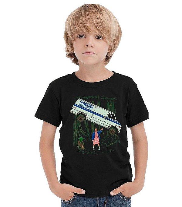 Camiseta Infantil Stranger Things - Eleven