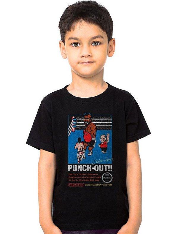Camiseta Infantil Punch-Out