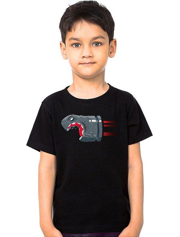 Camiseta Infantil Mario Bros Bala
