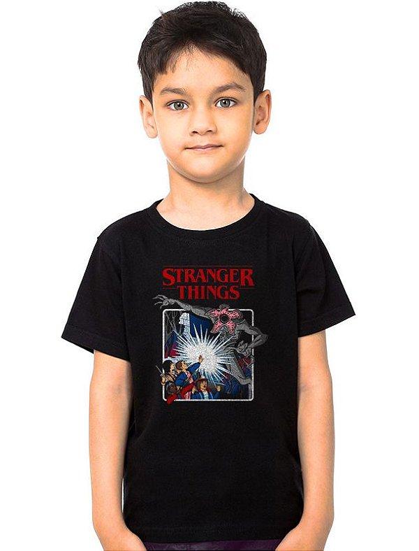 Camiseta Infantil Stranger Things - Serie