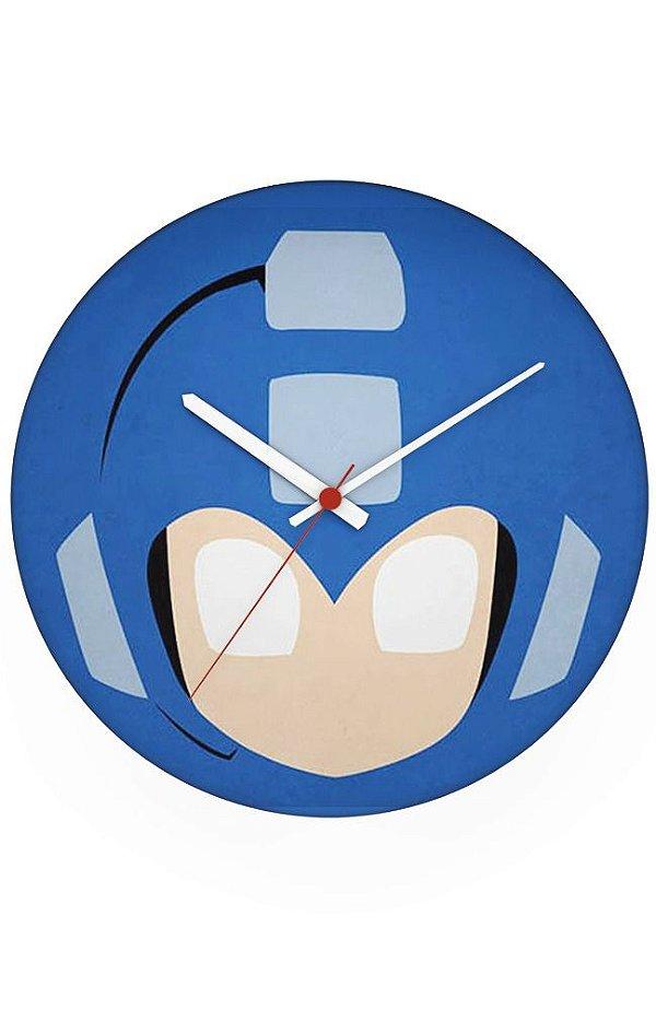 Relógio de Parede Mega Man - Nerd e Geek - Presentes Criativos