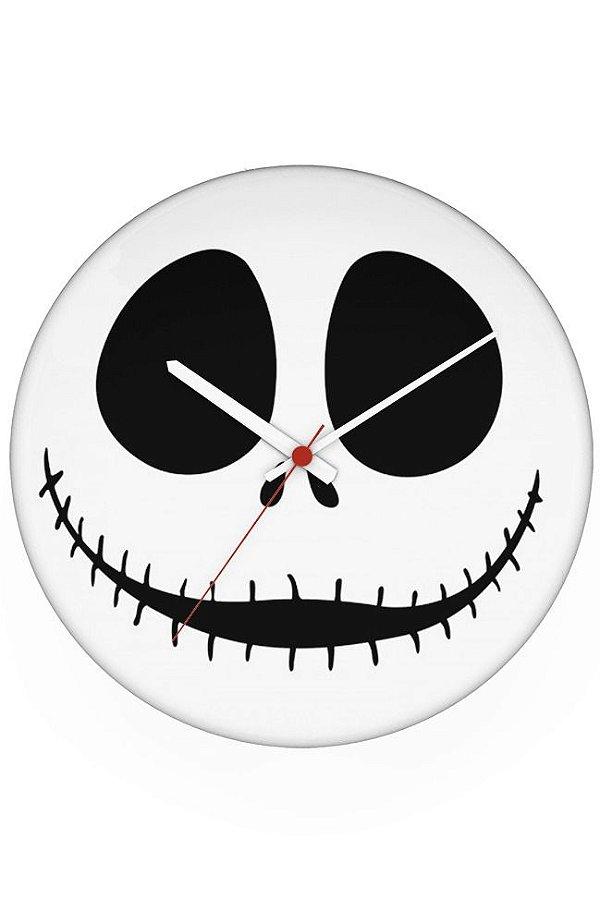 Relógio de Parede Jack Skellington - Nerd e Geek - Presentes Criativos