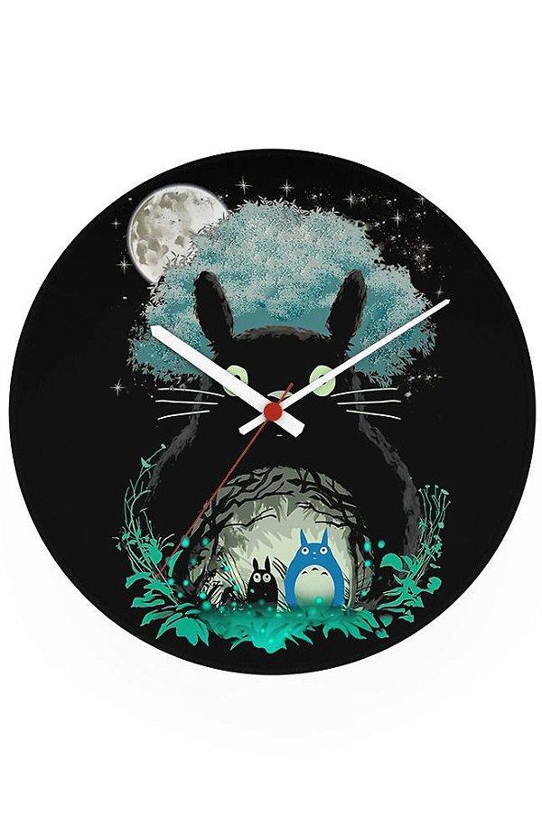 Relógio de Parede Meu Amigo Totoro - Nerd e Geek - Presentes Criativos