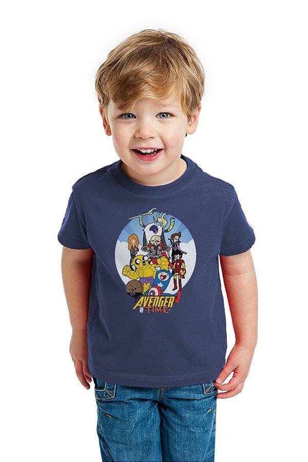 Camiseta Infantil Avanger Time