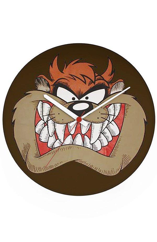 Relógio de Parede Tasmanian Devil