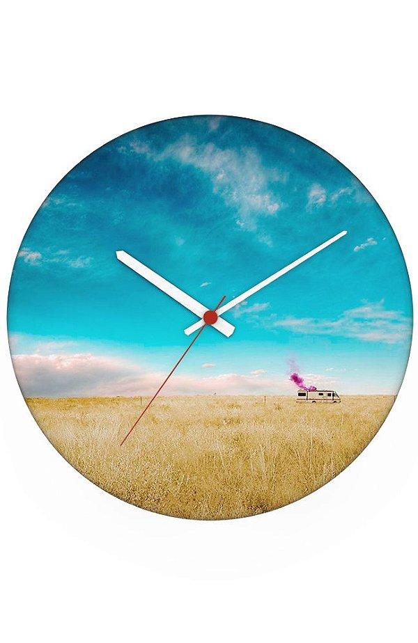 Relógio de Parede Breaking Bad
