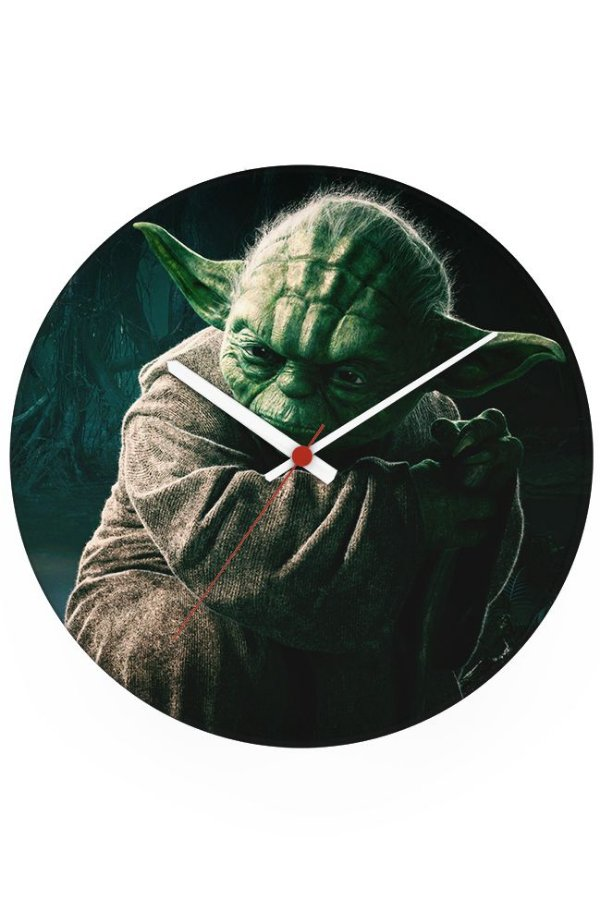 Relógio de Parede Star Wars - Yoda