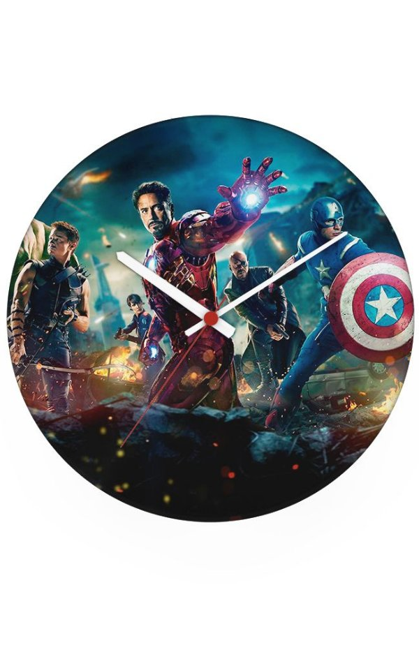 Relógio de Parede Os Vingadores