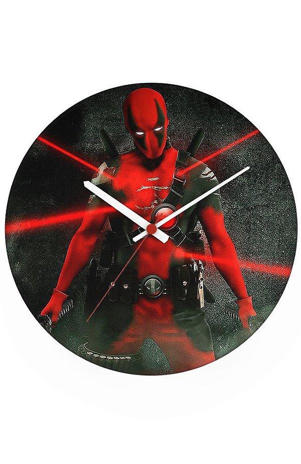 Relógio de Parede Deadpool