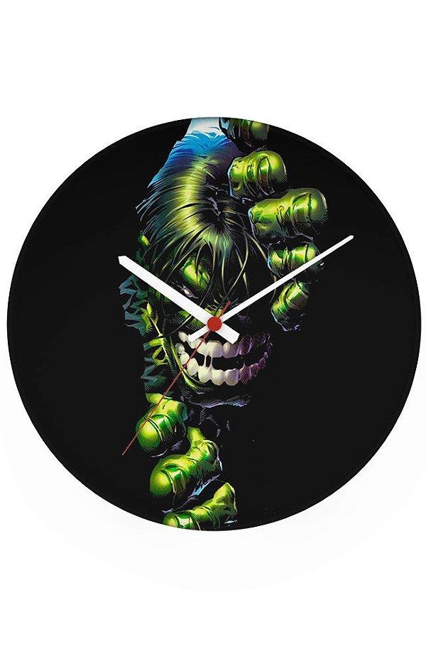 Relógio de Parede Hulk