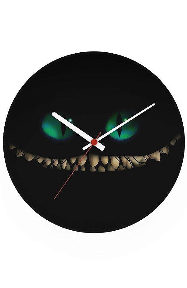 Relógio de Parede Alice no País das Maravilhas - Cheshire