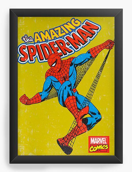 Quadro Decorativo Homem Aranha Amazing