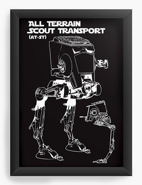 Quadro Decorativo Scout Transport