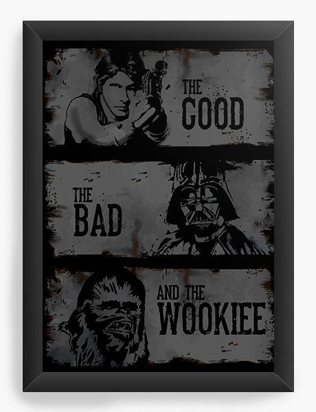 Quadro Decorativo Star Wars - The Good