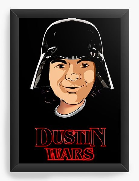 Quadro Decorativo Dustin Wars