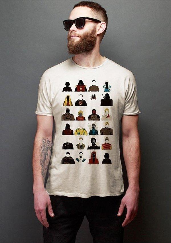 Camiseta Masculina  Game of Thrones - Nerd e Geek - Presentes Criativos
