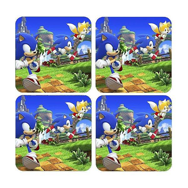 Porta Copos Sonic - Nerd e Geek - Presentes Criativos