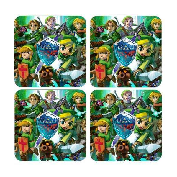 Porta Copos The Legend of Zelda - Nerd e Geek - Presentes Criativos