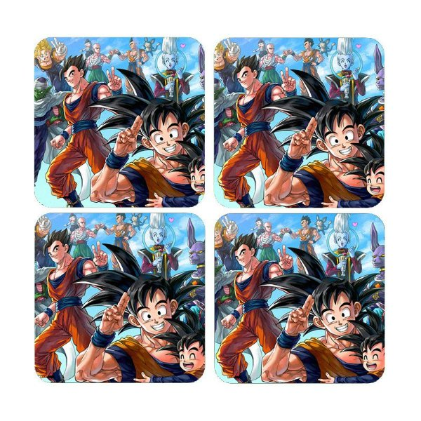Porta Copos Dragon Ball Z
