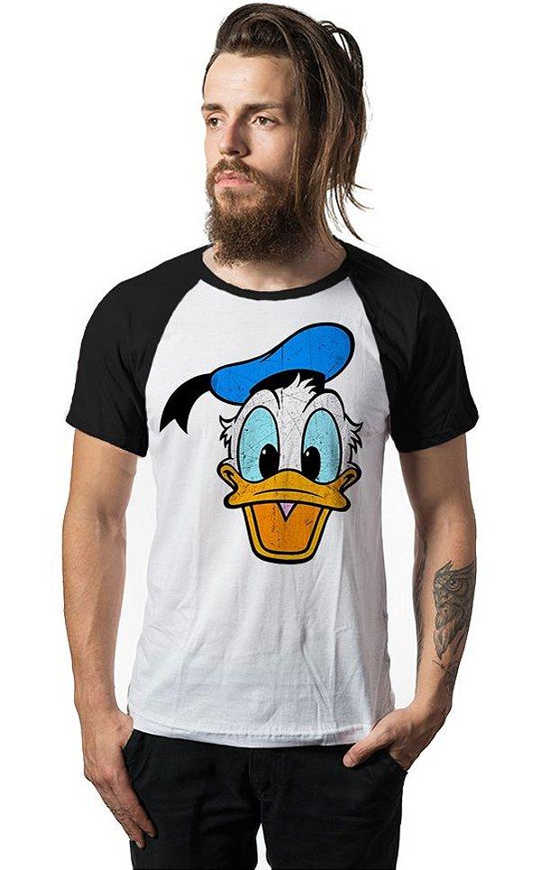 Camiseta Raglan Pato Donald